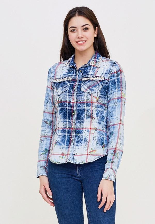 Купить Рубашка DSHE, mp002xw140u7, голубой, Весна-лето 2018