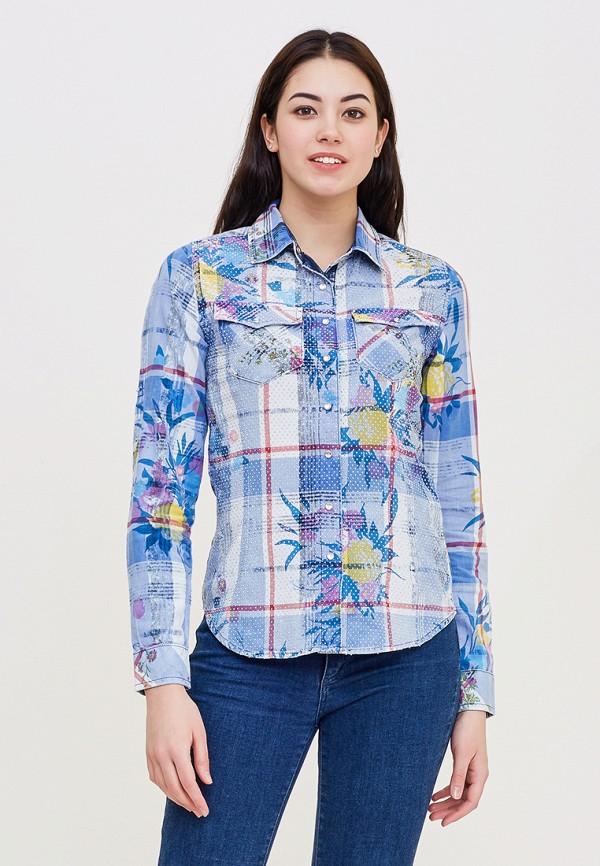 Купить Рубашка DSHE, mp002xw140ua, голубой, Весна-лето 2018