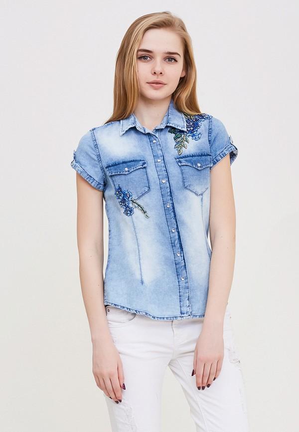 Купить Рубашка джинсовая DSHE, MP002XW140UD, голубой, Весна-лето 2018