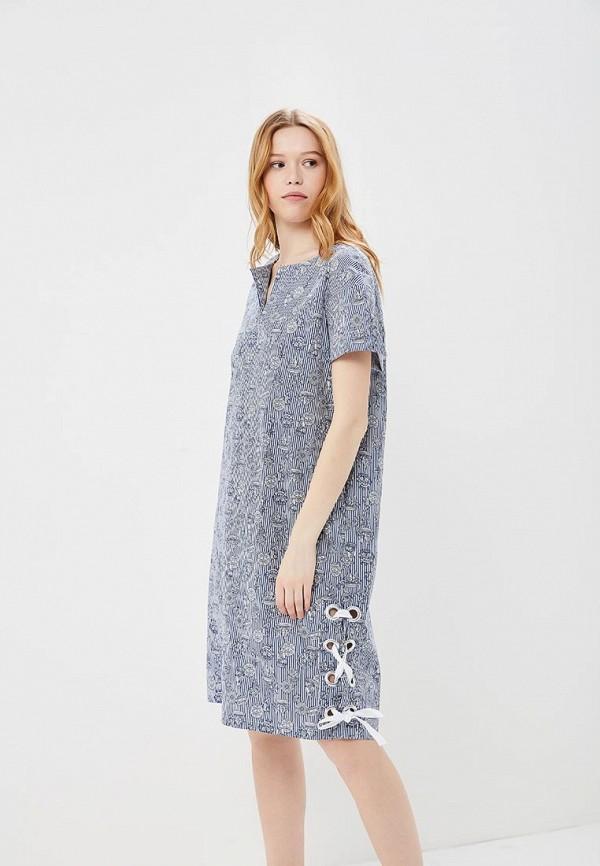 Купить Платье AstraVita, mp002xw140v7, синий, Весна-лето 2018