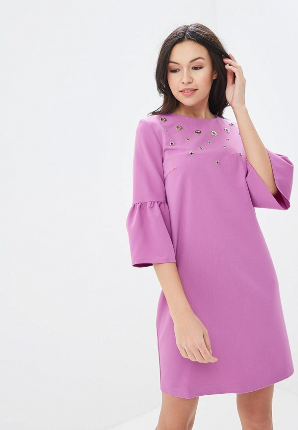 Купить Платье Mari Vera, mp002xw140wb, фиолетовый, Весна-лето 2018