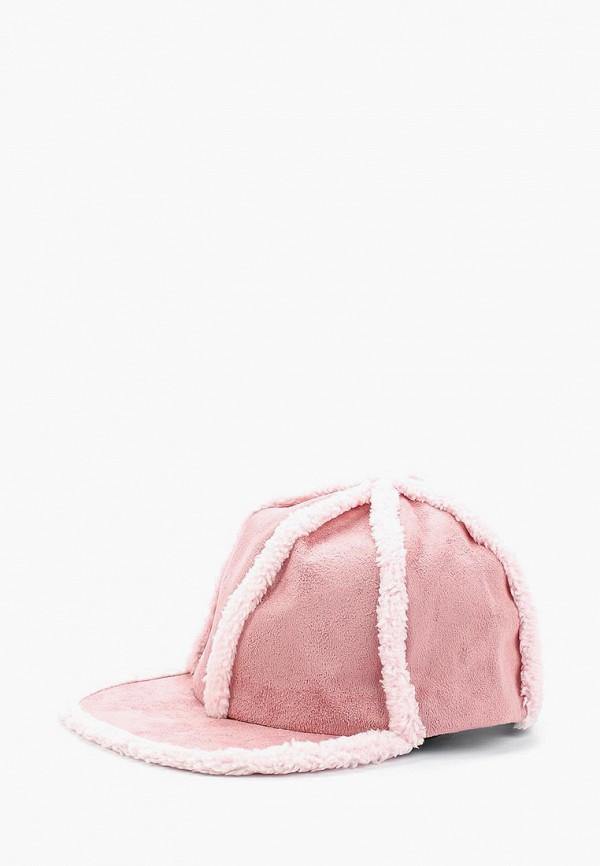женская бейсболка bradex, розовая