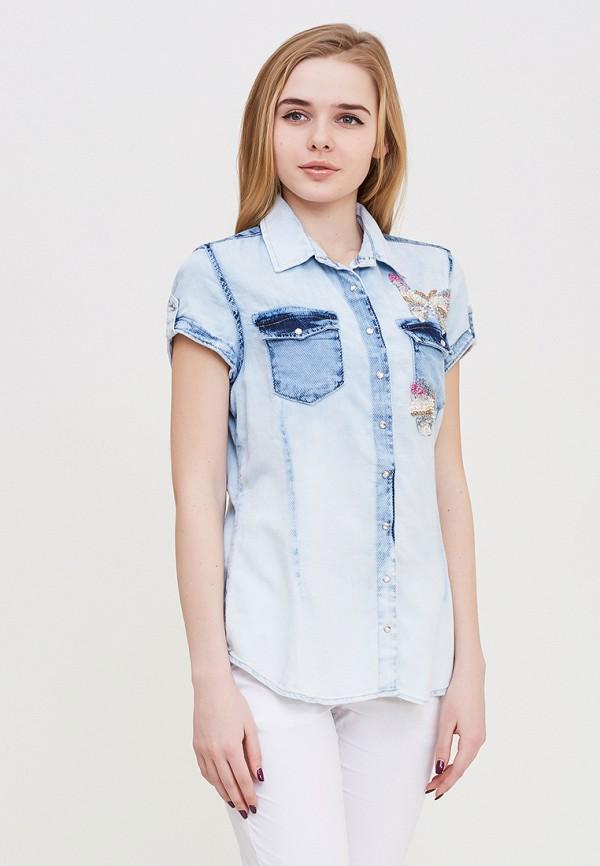 Рубашка джинсовая DSHE DSHE MP002XW140Z7 рубашка джинсовая dshe dshe mp002xw140z7