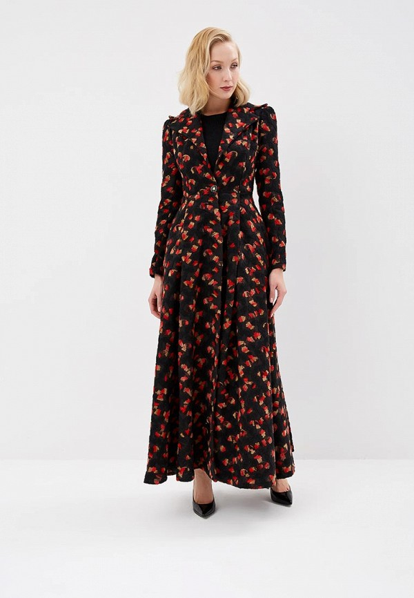 женское пальто sahera rahmani, черное