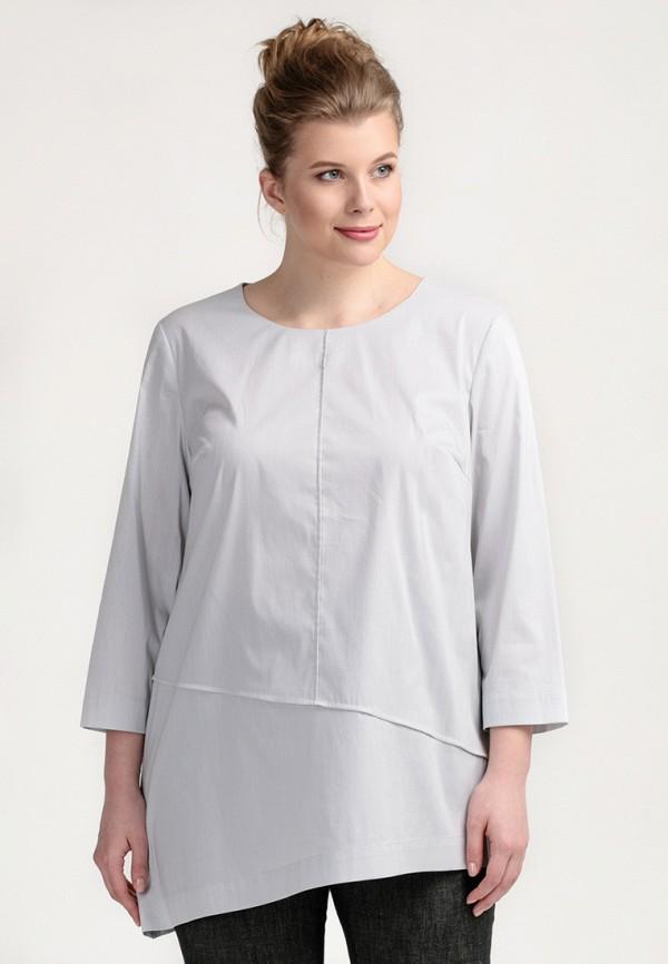 Купить Блуза Larro, mp002xw141iy, серый, Весна-лето 2018