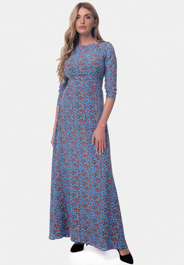женское платье макси arefeva, разноцветное