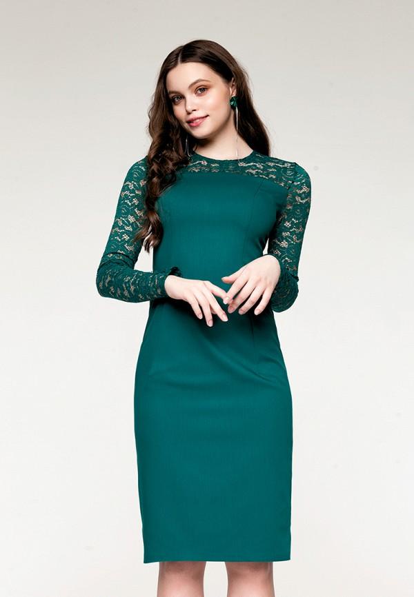 Купить Платье SoloU, mp002xw141on, зеленый, Весна-лето 2018