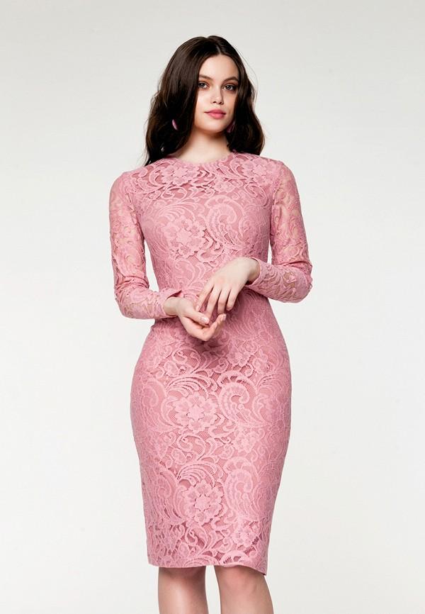 Купить Платье SoloU, mp002xw141oo, розовый, Весна-лето 2018