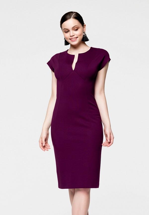 Купить Платье SoloU, mp002xw141os, фиолетовый, Весна-лето 2018
