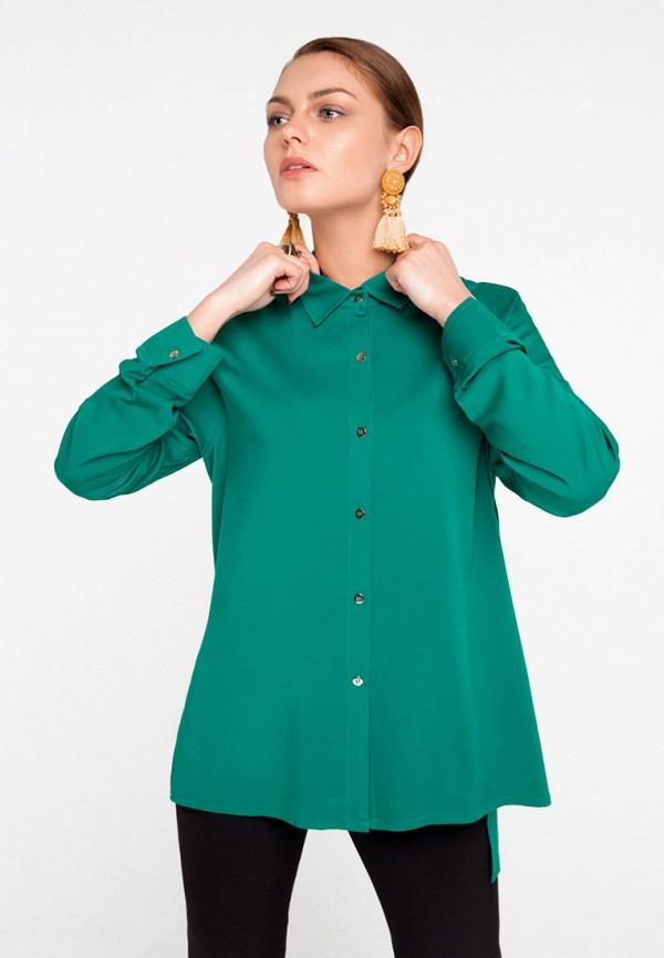 Купить Блуза SoloU, MP002XW141OU, зеленый, Весна-лето 2018