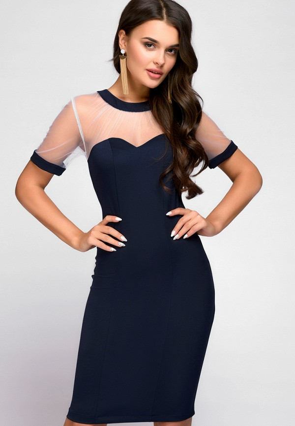 Платье D&M by 1001 dress D&M by 1001 dress MP002XW141QO ruched overlap cami dress