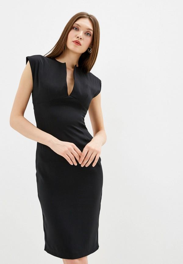 Платье D&M by 1001 dress цвет черный