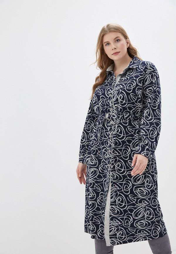 женское платье averi, синее