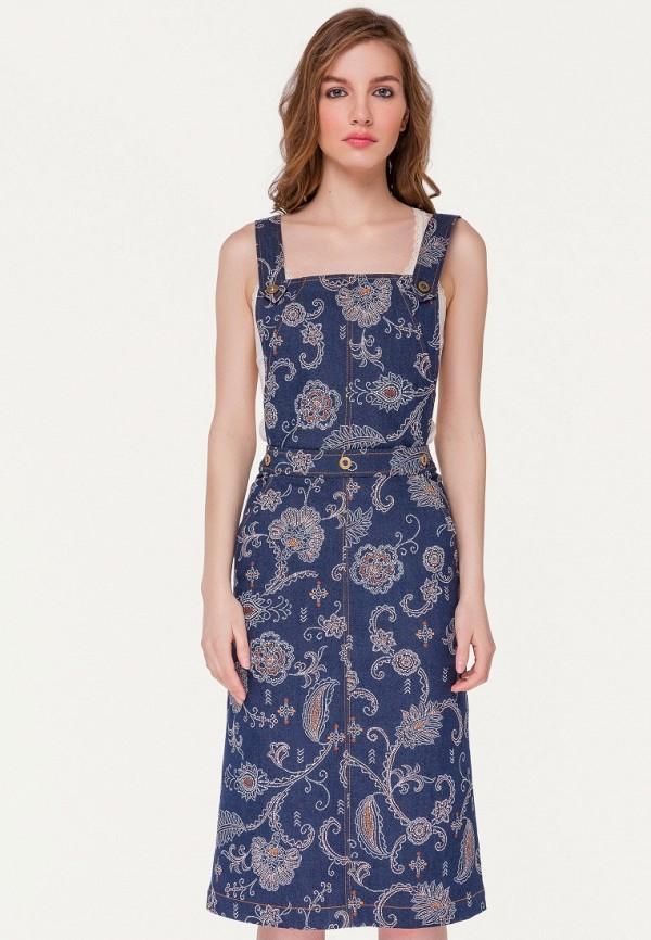 Платье джинсовое Stimage Stimage MP002XW145JW stimage джемпер aqua