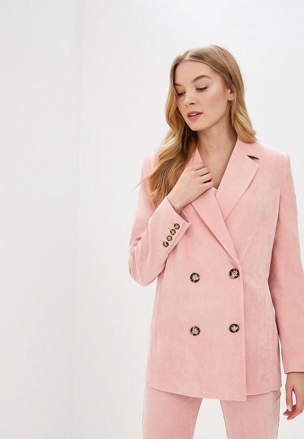 женский пиджак ruxara, розовый
