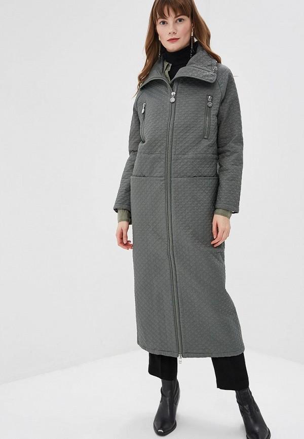 женская куртка naumi, зеленая