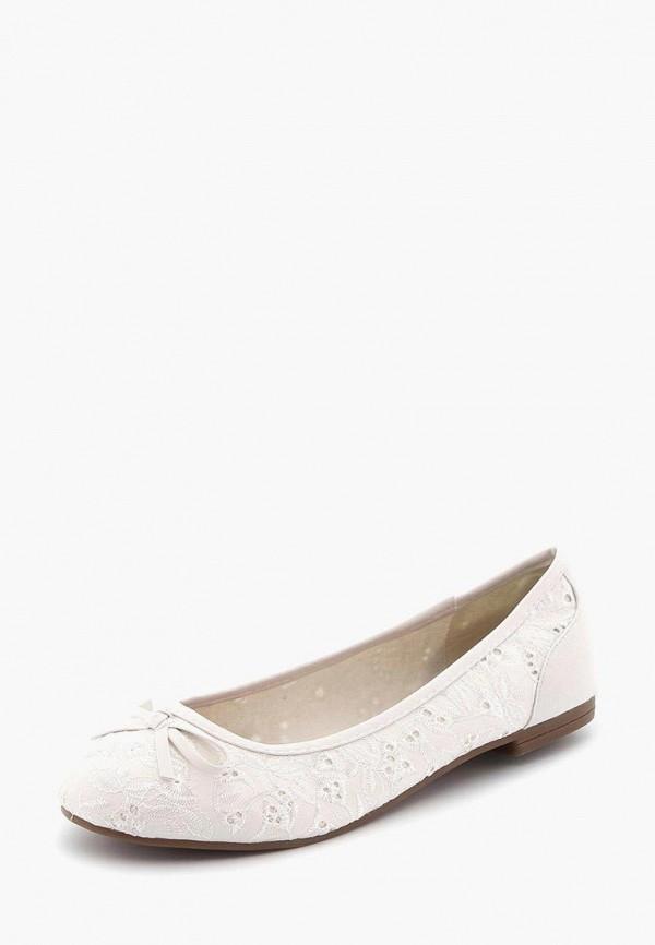 женские балетки idana, белые