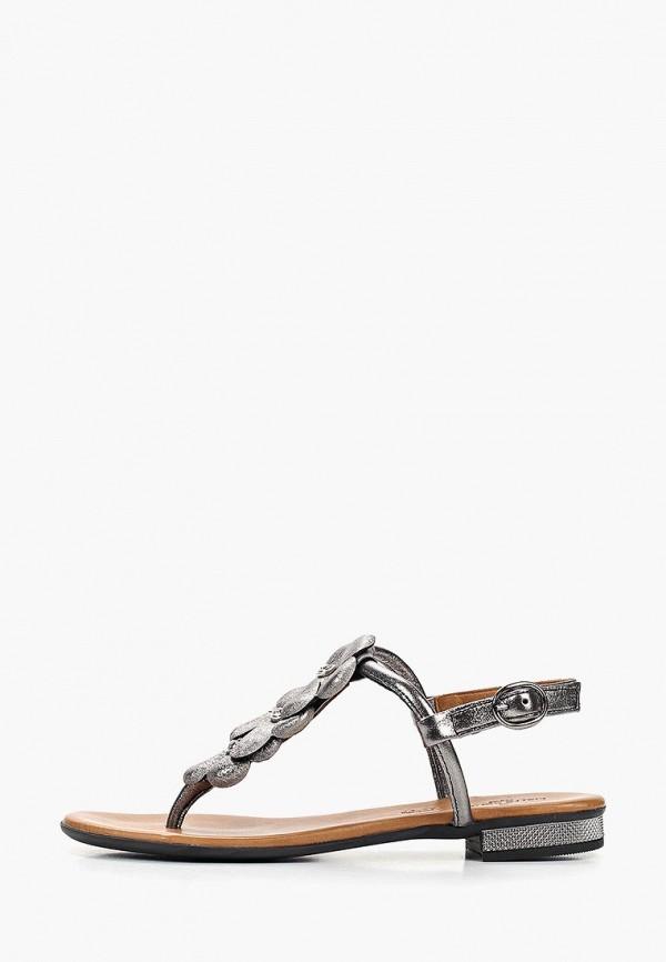женские сандалии pierre cardin, серебряные