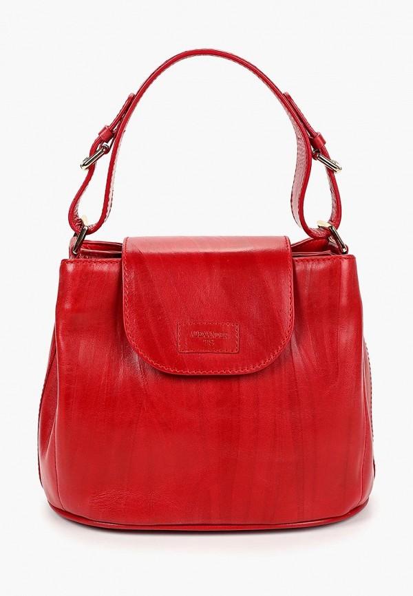 женская сумка alexander tsiselsky, красная