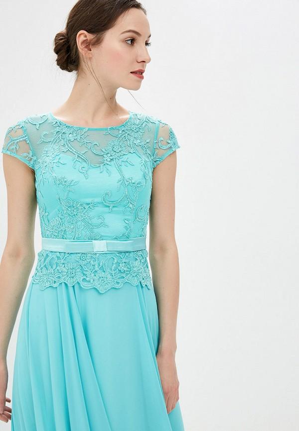 Платье Milomoor цвет бирюзовый  Фото 2