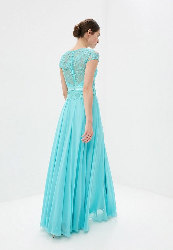 Платье Milomoor цвет бирюзовый  Фото 3