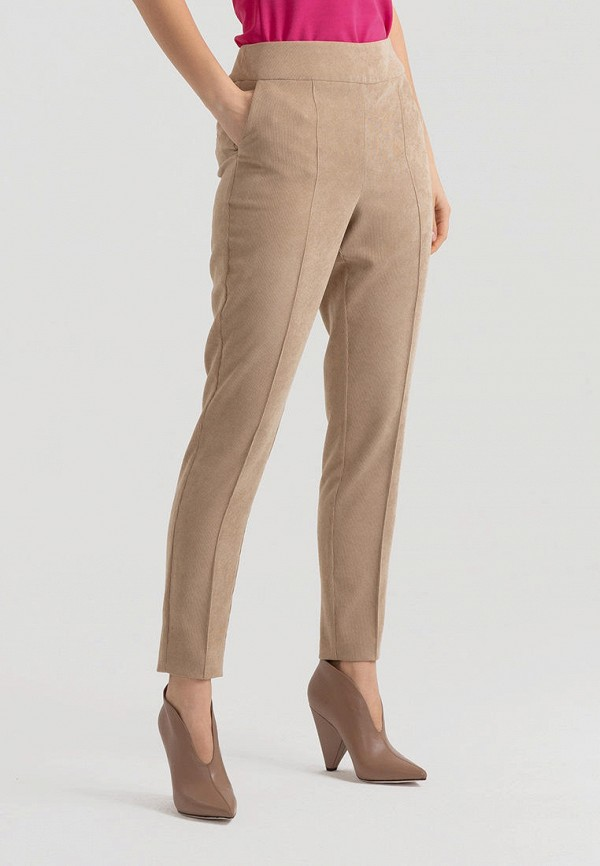 женские повседневные брюки lova, бежевые