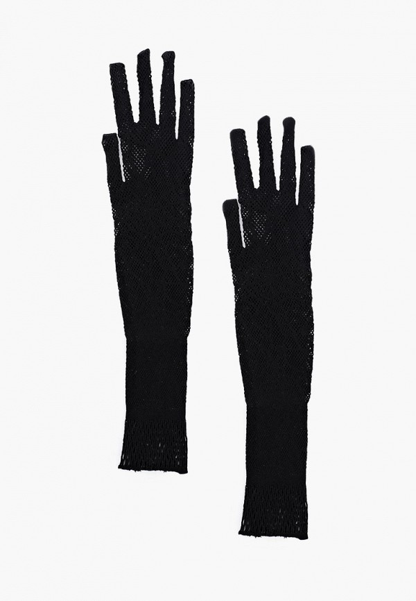 женские текстильные перчатки la cabaret, черные