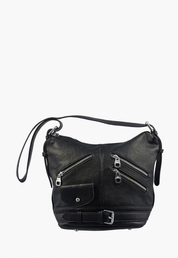 женская сумка через плечо dda, черная