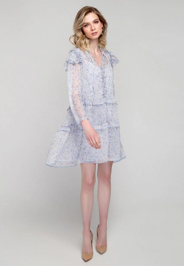 Платье Fors цвет голубой  Фото 2