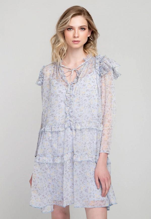 Платье Fors цвет голубой