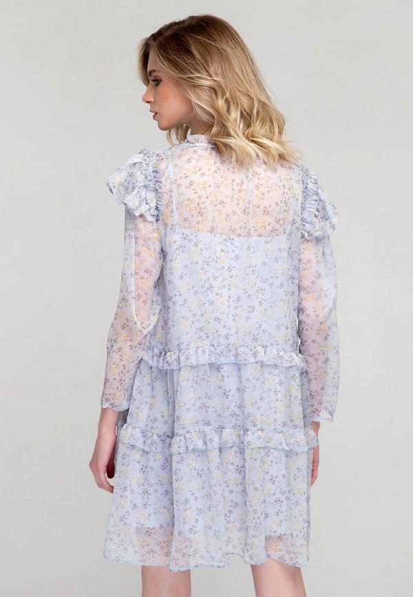 Платье Fors цвет голубой  Фото 3