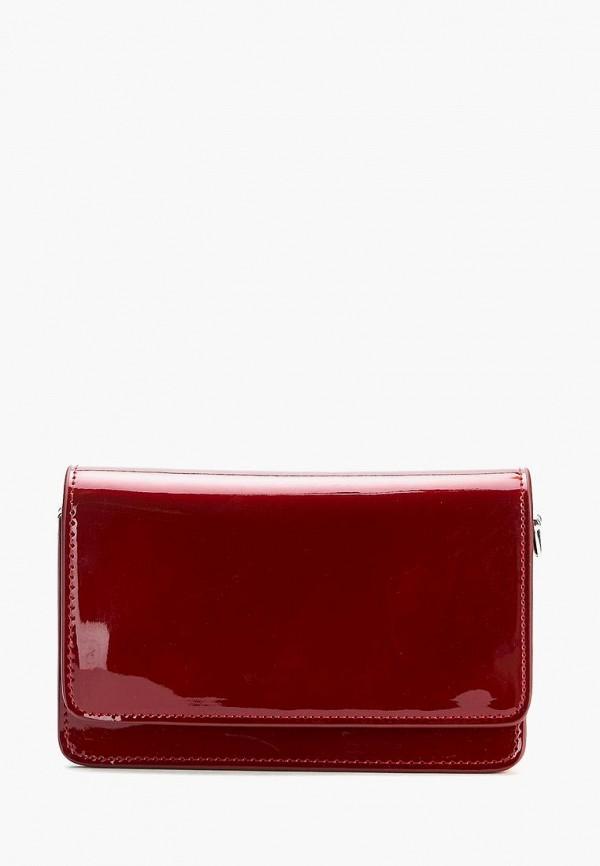 женская сумка через плечо jane's story, красная