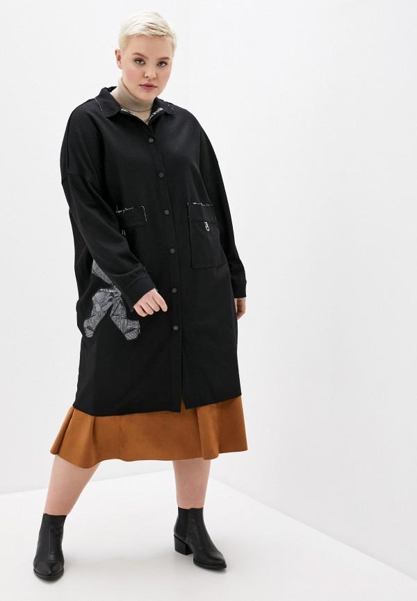 Пальто Joymiss черного цвета