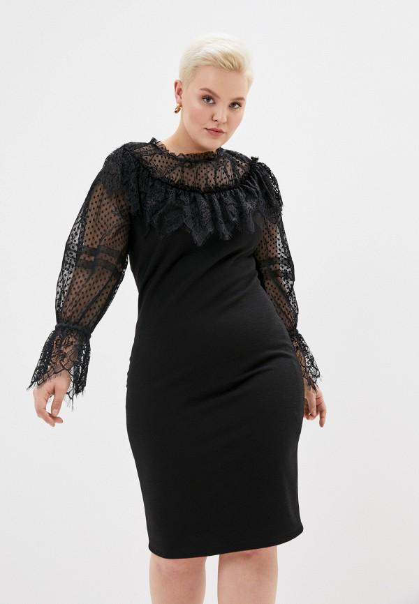 Платье Joymiss черного цвета
