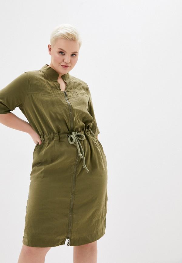 Фото - Женское платье Joymiss цвета хаки