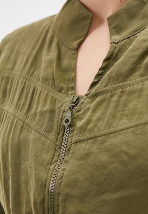 Фото 4 - Женское платье Joymiss цвета хаки