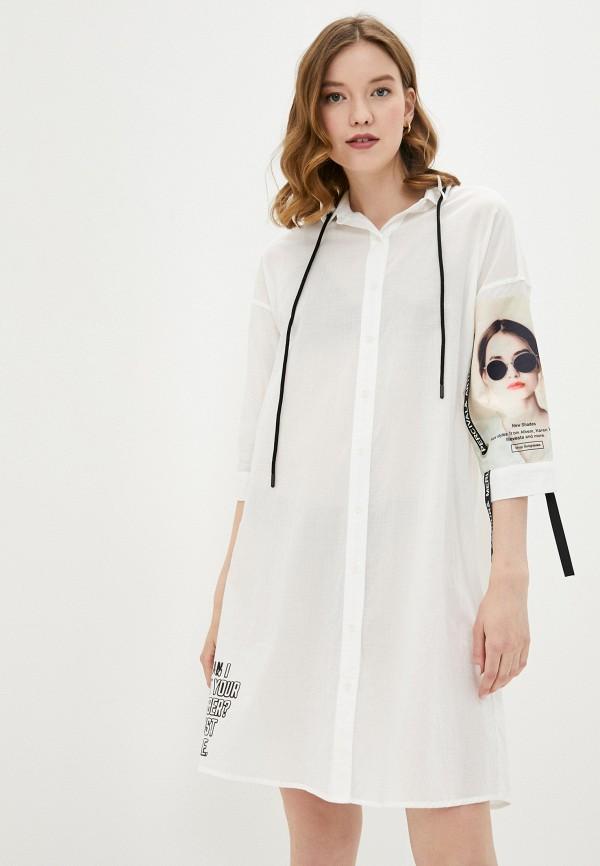 Платье Joymiss белого цвета