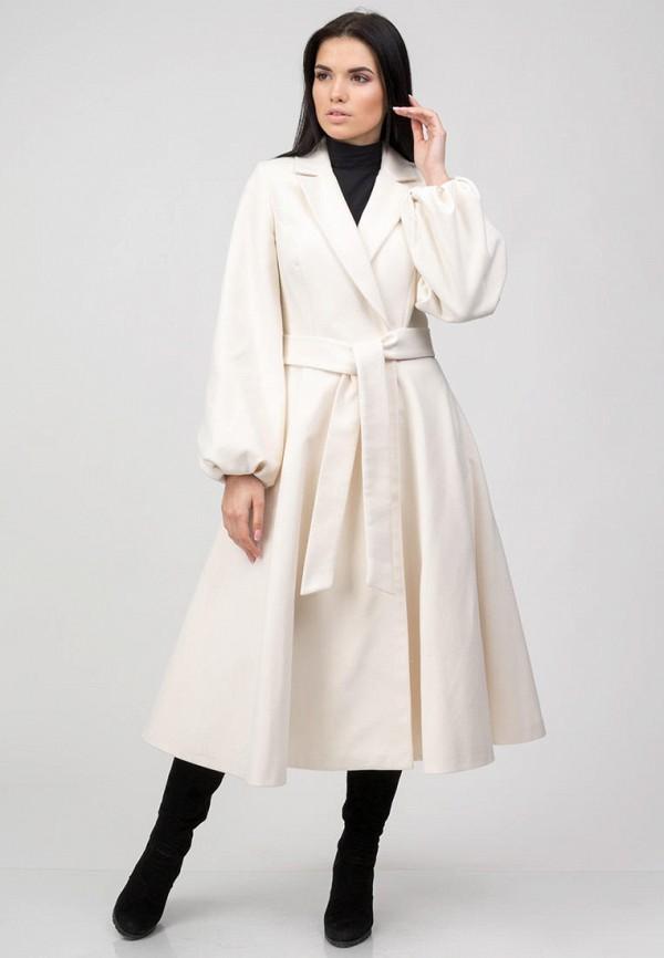 женское пальто raslov, белое