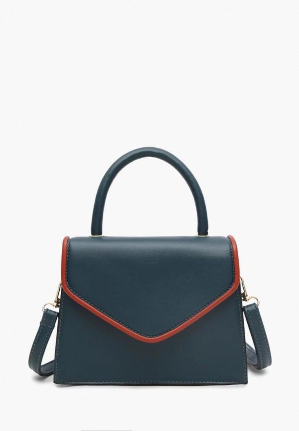 женская сумка через плечо dda, синяя