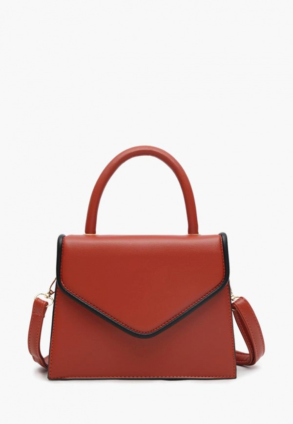 женская сумка через плечо dda, красная