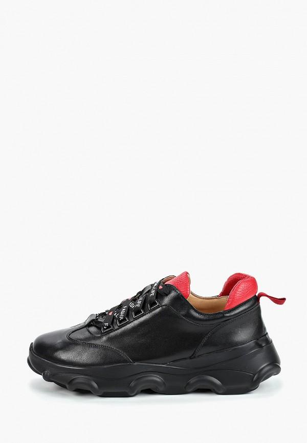 женские низкие кроссовки giotto, черные