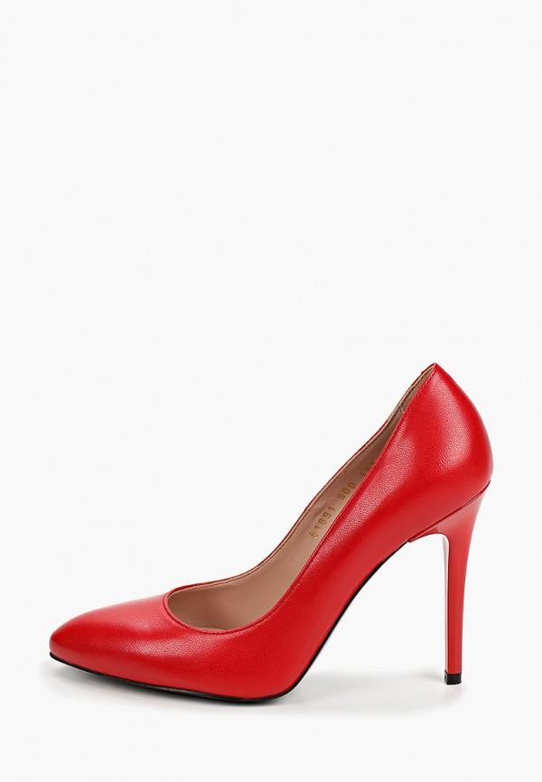 женские туфли-лодочки giotto, красные