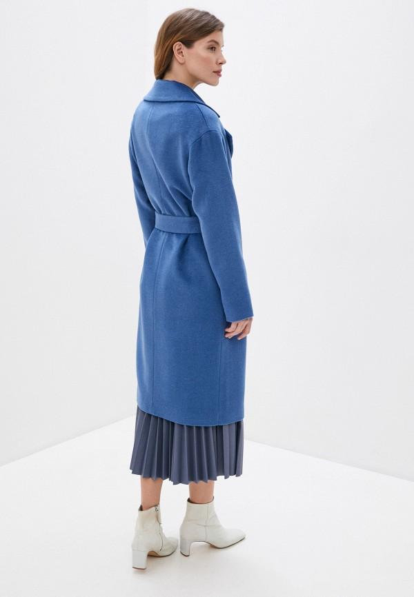 Фото 3 - Женское пальто или плащ Aylin Stories синего цвета