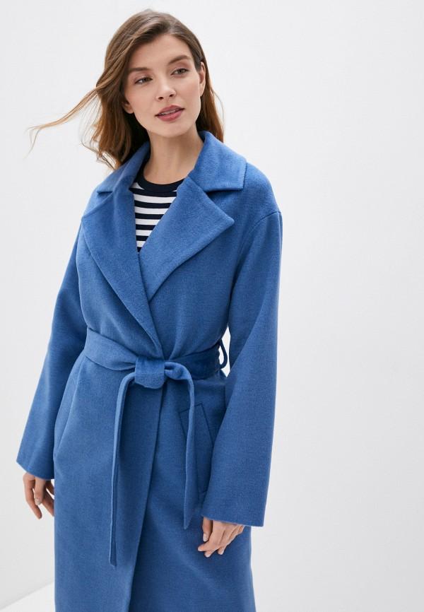 Фото 4 - Женское пальто или плащ Aylin Stories синего цвета