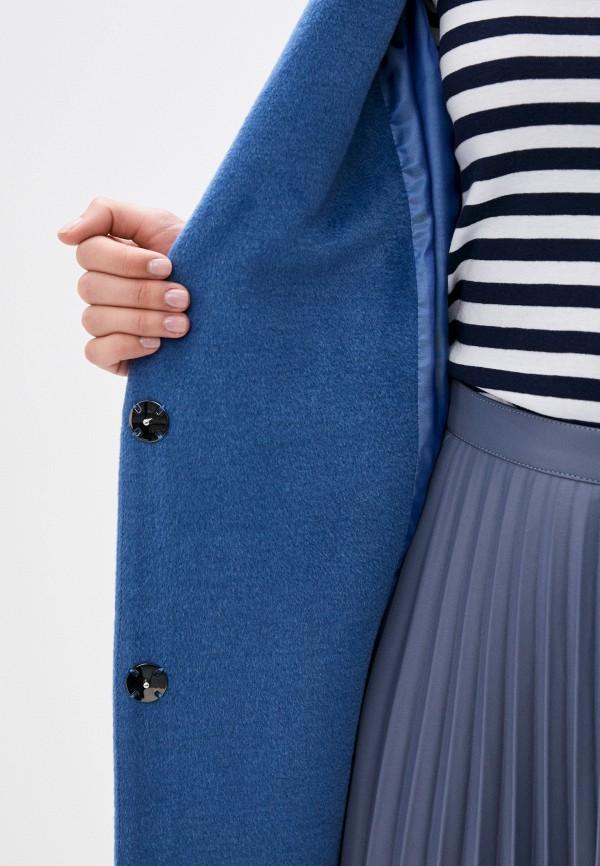Фото 5 - Женское пальто или плащ Aylin Stories синего цвета
