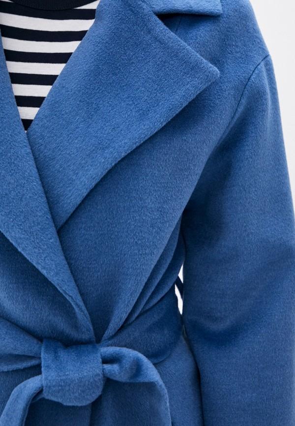 Фото 6 - Женское пальто или плащ Aylin Stories синего цвета