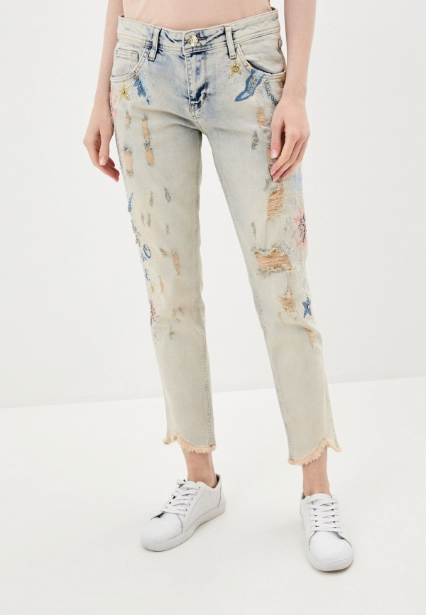 женские джинсы бойфренд dshe, разноцветные