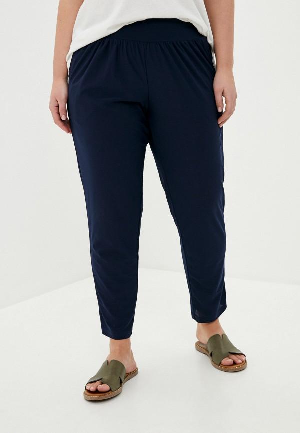 женские зауженные брюки olsi, синие