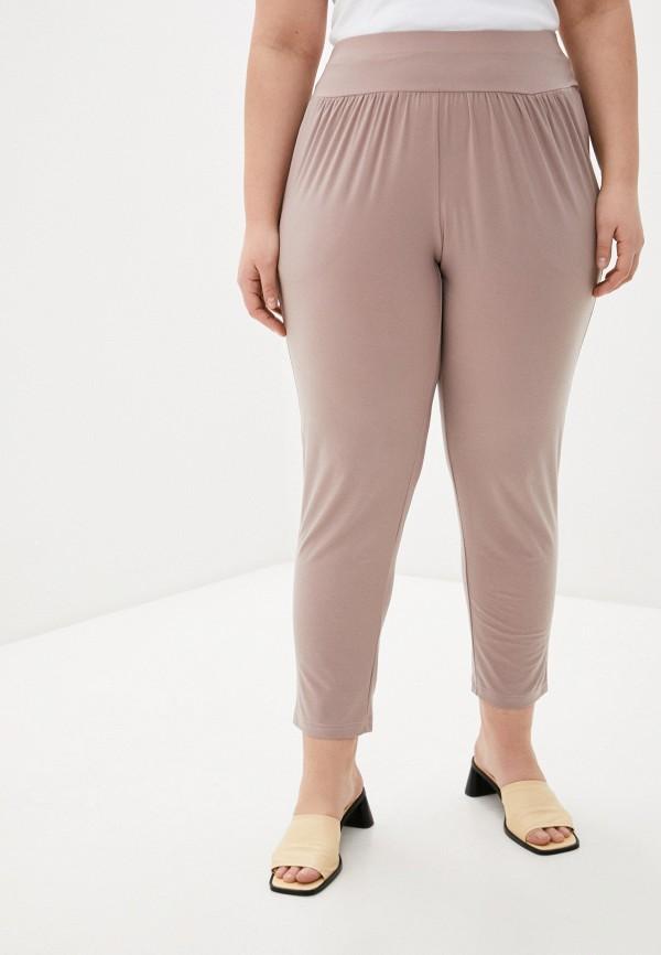 женские зауженные брюки olsi, бежевые