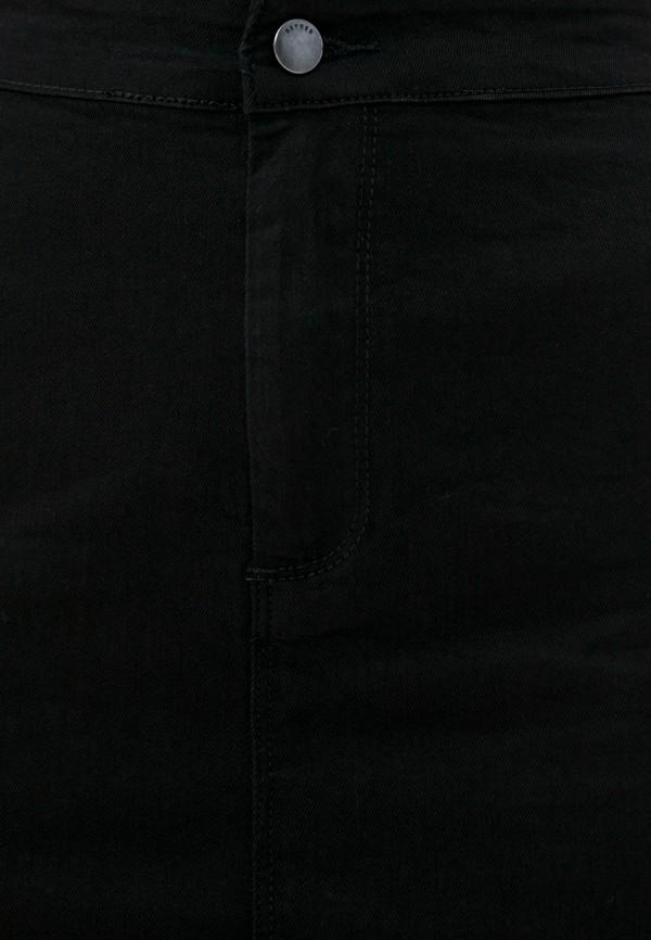 Фото 4 - Женскую юбку Befree черного цвета